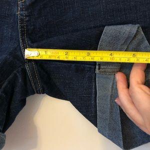 Guess Shorts - Guess cuffed dark denim shorts, SZ 6